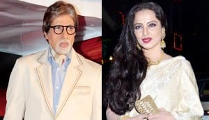 Is Amitabh Bachchan celebrating Rekha's birthday on October 10?