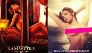 Sherlyn Chopra goes topless for Kamasutra 3D: View poster