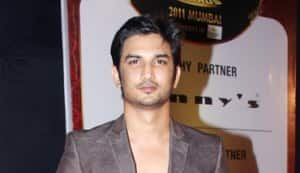 Sushant Singh Rajput, Shama Sikander at Gold Awards