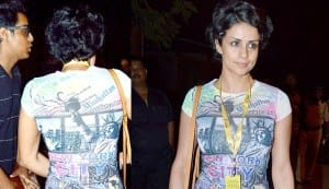 Gul Panag chooses to go casual at a rock concert!