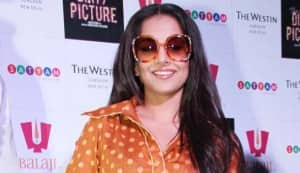 Vidya Balan isn't losing sleep over losing weight