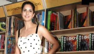 How did Katrina Kaif manage to injure herself?