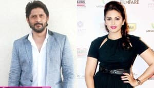 Will Arshad Warsi really kiss Huma Qureshi in Dedh Ishqiya?