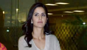 Katrina Kaif spotted at the airport