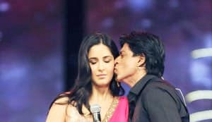 When Shahrukh Khan kissed Katrina Kaif