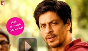 How do you know Shahrukh's religion in 'Chak De! India'?