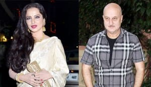 Rekha and Anupam Kher come together after many years