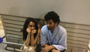 In Focus: Aditya Roy Kapur and Shraddha Kapoor stranded at airport!