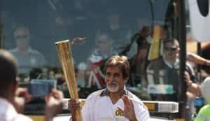 London Olympics 2012: Amitabh Bachchan carries the torch!