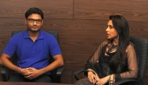 Table for Two winner Baljeet Singh meets Rani Mukerji!