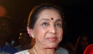 Asha Bhosle, happy birthday!