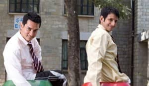 Aamir Khan, Sharman Joshi in Raju Hirani's film 'Pee Kay'