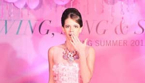 Kalki Koechlin walks the ramp at Swarovski party