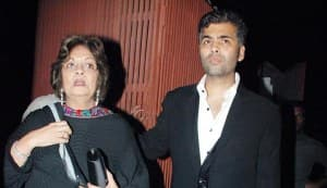 Karan Johar's mother Hiroo Johar hospitalised