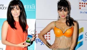 What's with Chitrangda Singh's fascination with orange?