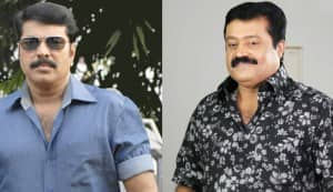 Mammootty, Suresh Gopi stall 'King and Commissioner' shoot!