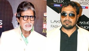 Amitabh Bachchan and Anurag Kashyap come together for thriller