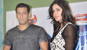 Salman Khan gives Katrina Kaif the cold shoulder