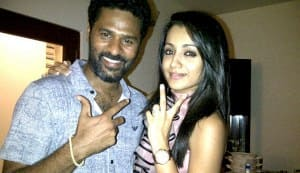 Is Prabhu Deva ready to mingle?
