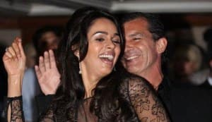 Mallika Sherawat dances with Hollywood heartthrob Antonio Banderas