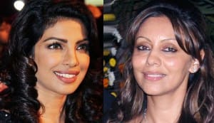 Priyanka Chopra and Gauri Khan end their fight over Shahrukh Khan