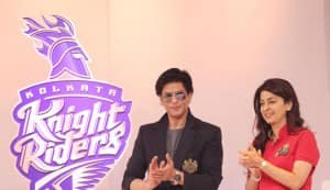 Shahrukh Khan: Juhi Chawla wants pink to be the Kolkata Knight Riders colour!