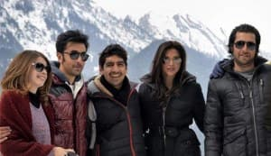 Ranbir Kapoor and Deepika Padukone shoot for a song in Kashmir: view pic