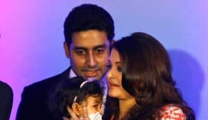 Abhishek Bachchan denies rumours of Rs 54 crore holiday home for Aaradhya Bachchan in Dubai!