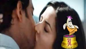 BL Awards 2011: Hrithik Roshan-Katrina Kaif win Best onscreen 'pappi' (kiss)