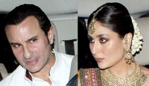 Saif Ali Khan and Kareena Kapoor sangeet ceremony pics: Amrita Singh's daughter Sara attends!