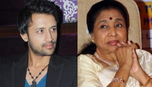 Asha Bhosle leaves the stage after argument with Atif Aslam