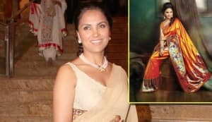 Actor-enterpreneur Lara Dutta launches her own ethnic fashion line