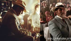 Amitabh Bachchan's different moods on The Great Gatsby sets!