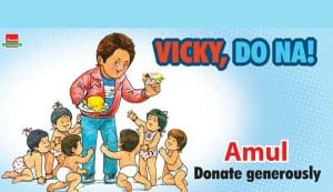 Amul butters it up with 'Vicky Donor'