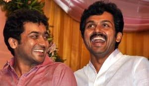 Suriya, Karthi donate Rs 1 crore; get theatre named after their parents