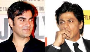 Why is Arbaaz Khan keen to work with Shahrukh Khan?