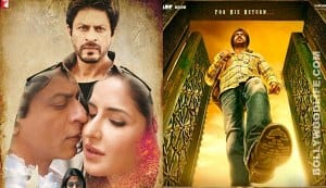 Box office report: Jab Tak Hai Jaan likely to lose the race to Son Of Sardaar!