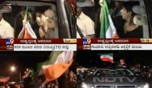 Did Shahrukh Khan show disrespect to the Indian flag?