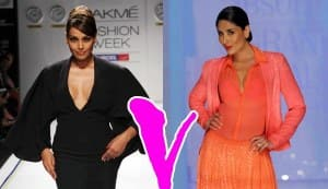 Lakme Fashion Week 2013 grand finale: Kareena Kapoor and Bipasha Basu – the ultimate style rivals?