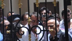 Sanjay Dutt finally surrenders before TADA court: view pic