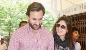 Pics: Why are Saif Ali Khan and Kareena Kapoor glowing?