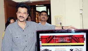 Anil Kapoor and Mithun Chakraborty launch CINTAA website