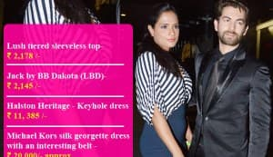 Did Richa Chadda really wear THAT on her date with Neil Nitin Mukesh?