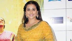 What is the one thing Vidya Balan will never do?