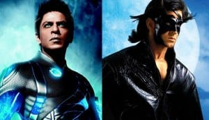 Shahrukh Khan's G.One to meet Hrithik Roshan's Krrish?
