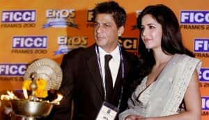 Shahrukh Khan, Katrina Kaif begin shooting for Yash Chopra's love story