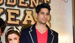 Karan Johar, Siddharth Malhotra, Alia Bhatt, Varun Dhawan at the trailer launch of 'Student Of The Year'