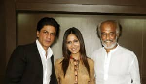 Shahrukh Khan's 'RA.One' gets Rajinikanth's Midas touch