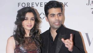 Is Karan Johar pushing Alia Bhatt too hard?