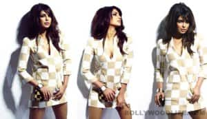 Priyanka Chopra's March Vogue cover making: A riveting watch!